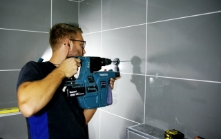 Sanitair monteren badkamer